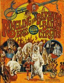 Ringling Bros. and Barnum & Bailey Circus - 106th Edition - Program - USA, 1976