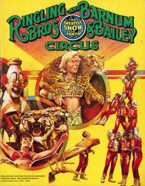 Ringling Bros. and Barnum & Bailey Circus - 109th Edition - Program - USA, 1979