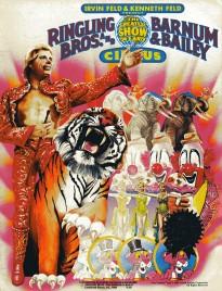 Ringling Bros. and Barnum & Bailey Circus - 113th Edition - Program - USA, 1983