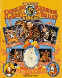 Ringling Bros. and Barnum & Bailey Circus - 115th Edition - Program - USA, 1985