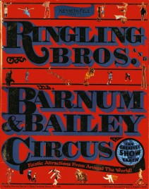 Ringling Bros. and Barnum & Bailey Circus - 116th Edition - Program - USA, 1986