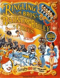 Ringling Bros. and Barnum & Bailey Circus - 114th Edition - Program - USA, 1984