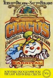 Robert Brothers International Circus - Program - Scotland, 1984