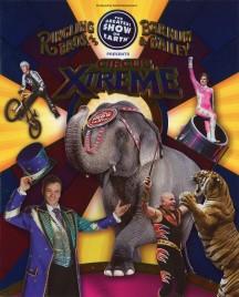 Ringling Bros. and Barnum & Bailey Circus - Circus Xtreme - Program - USA, 2015