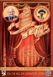 40eme Festival International du Cirque de Monte-Carlo - Program - Monaco, 2016
