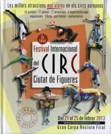 2a Festival International del Circ de Figueres - Program - Spain, 2013