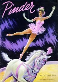 Cirque Pinder - Program - France, 1956