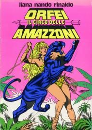 Nando, Liana, Rinaldo Orfei - Il Circo delle Amazzoni - Program - Italy, 1976
