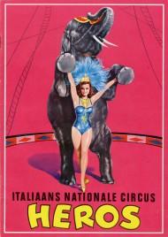 Circus Heros - Program - Italy, 1966