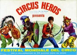 Circus Heros - Program - Italy, 1968