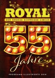 Circus Royal - Program - Switzerland, 2018