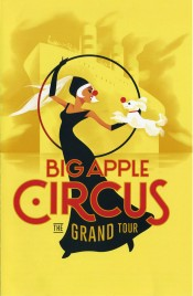 Big Apple Circus - The Grand Tour - Program - USA, 2015