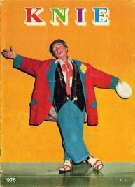 Circus Knie - Program - Switzerland, 1976