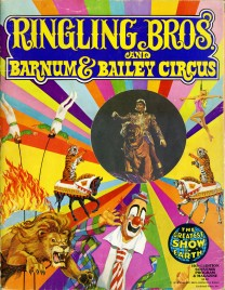 Ringling Bros. and Barnum & Bailey Circus - 103rd Edition - Program - USA, 1974