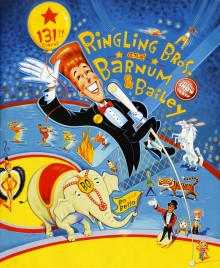 Ringling Bros. and Barnum & Bailey Circus - 131st Edition - Program - USA, 2001
