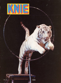 Circus Knie - Program - Switzerland, 1988