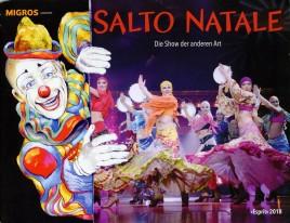 Circus Salto Natale - Esprit - Program - Switzerland, 2018