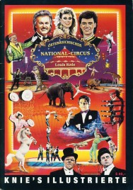 Circus Louis Knie - Program - Austria, 1994