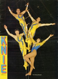 Circus Knie - Program - Switzerland, 1990