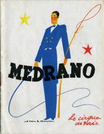 Cirque Medrano - Program - France, 1949