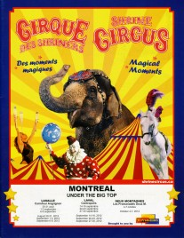 Shrine Circus - Program - Canada, 2012