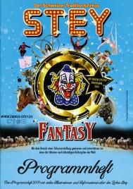 Zirkus Stey - Program - Switzerland, 2019