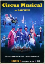 Knie - Das Circus Musical - Program - Switzerland, 2019