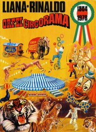 Liana e Rinaldo - Orfei Circorama - Program - Italy, 1978