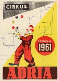 Cirkus Adria - Program - Serbia, 1961