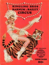Ringling Bros. and Barnum & Bailey Circus - 89th Season - Program - USA, 1959