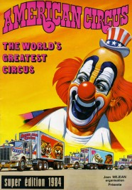 American Circus - Program - Italy, 1984