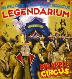 Big Apple Circus - Legendarium - Program - USA, 2012