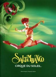 Cirque du Soleil - Saltimbanco - Program - Canada, 1992