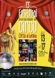 13 Festival Internazionale del Circo Città di Latina - Program - Italy, 2011