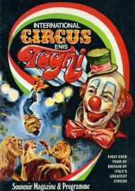 Circus Enis Togni - Program - Italy, 1972