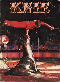 Circus Knie - Program - Switzerland, 1981