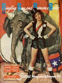 Ringling Bros. and Barnum & Bailey Circus - Program - USA, 1950