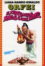 Nando, Liana, Rinaldo Orfei - Il Circo delle Mille e Una Notte - Program - Italy, 1974