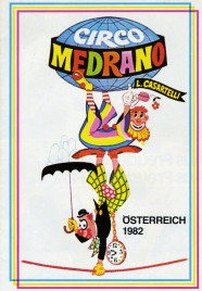 Circo Medrano - Program - Italy, 1982