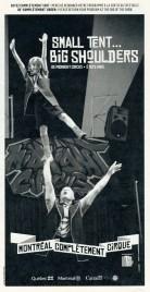 Midnight Circus - Small Tent... Big Shoulders - Program - USA, 2014