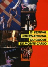 11e Festival International du Cirque de Monte-Carlo - Program - Monaco, 1985