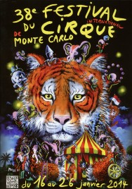 38e Festival International du Cirque de Monte-Carlo - Program - Monaco, 2014