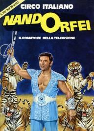 Circo Nando Orfei - Program - Italy, 1980