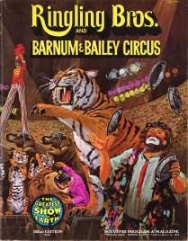 Ringling Bros. and Barnum & Bailey Circus - 102nd Edition - Program - USA, 1972