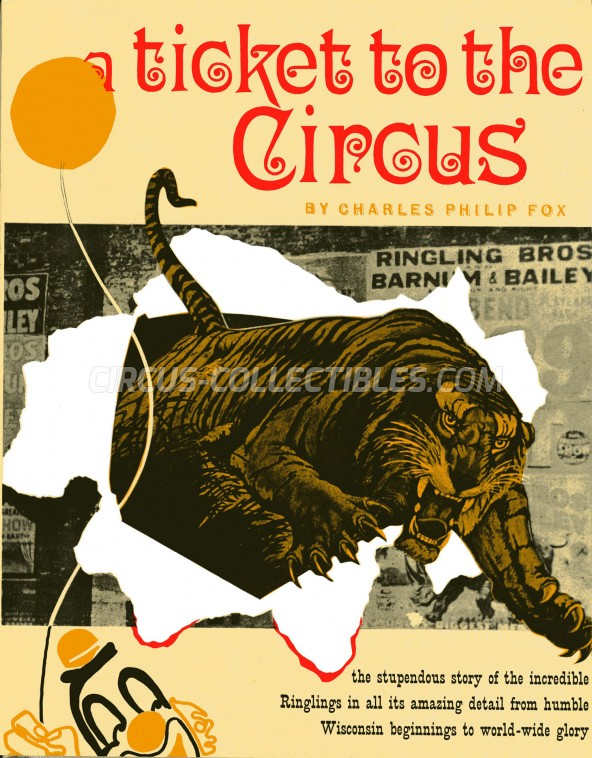 A Ticket to the Circus - Book - 1959