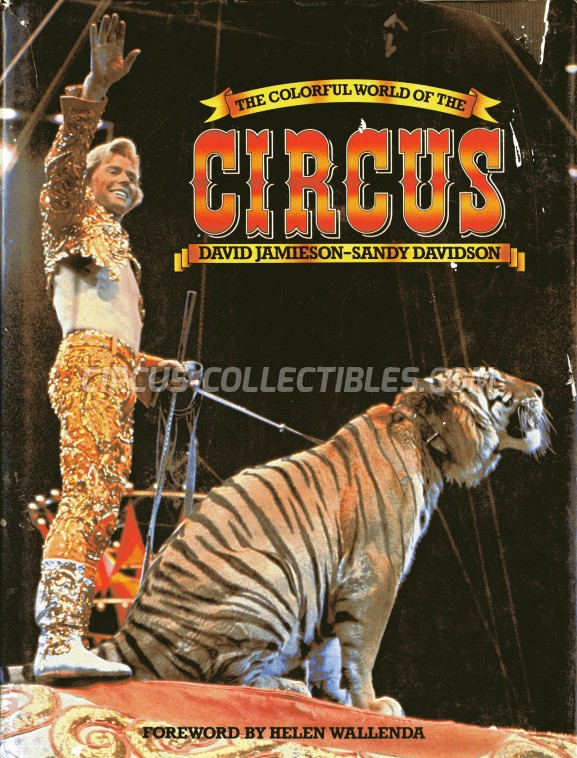 The Colorful World of Circus - Book - 1980