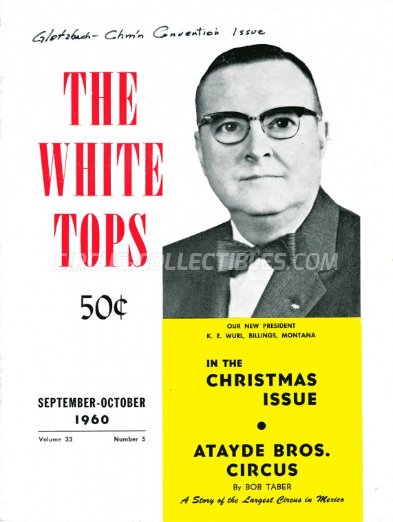 The White Tops - Magazine - 1960