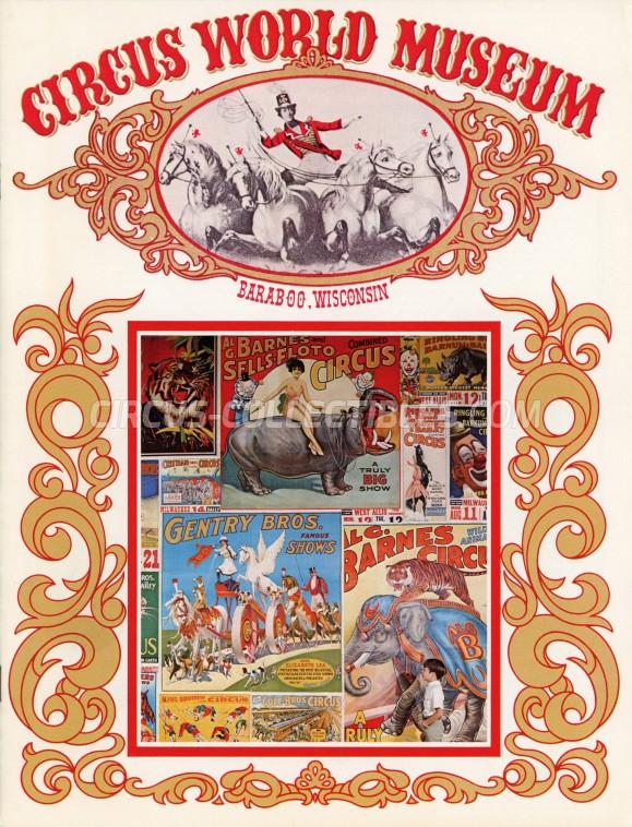Circus World Museum - Magazine - 1971