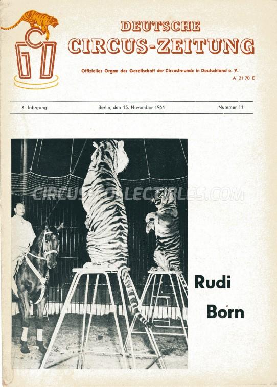 Deutsche Circus-Zeitung - Magazine - 1964