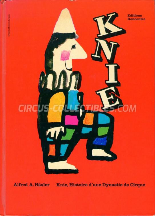 Knie, Histoire d'une Dynastie de Cirque - Book - 1968